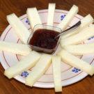 Piatto di pecorino prodotto da Macelleria Zio Peppe