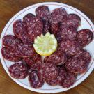 Piatto di salame equino - Antipasti braceria da Zio peppe